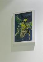 sans titre, acryl sur papier, 2008 - Articulation Double, 2010