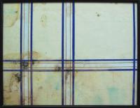 Construction humide, 2004 - Encre -  moisissures sur papier, 24 x 30 cm