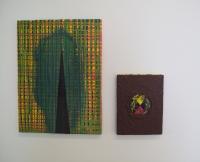 Ouverture, acryl sur toile, 2010 - Hole, acryl sur toile, 2011