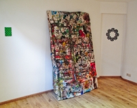 365 jours, peinture aléatoire/toile - 2010-2011