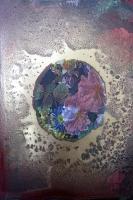 Bubble - Aérosol sur papier imprimé