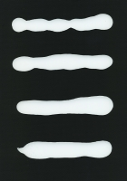 Fixall n°8 - colle sous verre, 29,7 x 21cm, 2012
