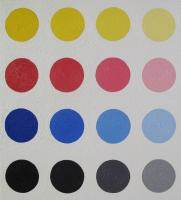 PCT 1, huile sur toile - 66,5 x 60 cm, 2012