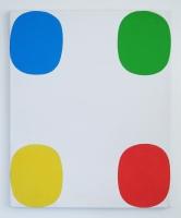 AI (Kalas), 2015 -  acrylique sur toile, 59,5 x 50 cm