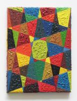 Rétroaction n°1, huile sur toile  - 24 x 18 cm, 2011