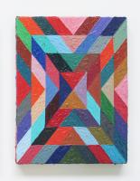 Rétroaction n°11, huile sur toile  - 21 x 16 cm, 2012