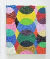 Rétroaction n°22, huile sur toile  - 30 x 25 cm, 2012