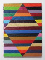 Rétroaction n°24, huile sur toile  - 60 x 80 cm, 2012