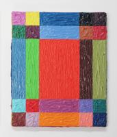 Rétroaction n°25, huile sur toile  - 30 x 25 cm, 2012