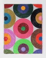 Rétroaction n°26, huile sur toile  - 42 x 32,5 cm, 2012