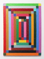 Rétroaction n°27, huile sur toile  - 60 x 80 cm, 2012