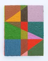 Rétroaction n°29, huile sur toile  - 26,5 x 21 cm, 2012