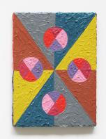 Rétroaction n°3, huile sur toile  - 19 x 14 cm, 2011
