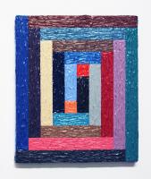 Rétroaction n°32, huile sur toile  - 25 x 30 cm, 2012