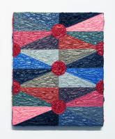 Rétroaction n°33, huile sur toile  - 26 x 21 cm, 2012