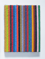 Rétroaction n°37, huile sur toile  - 26 x 21 cm, 2013