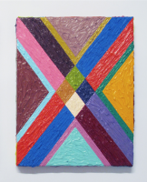Rétroaction n°39, huile sur toile  - 26 x 21 cm, 2013