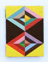 Rétroaction n°41, huile sur toile  - 24,5 x 18 cm, 2013