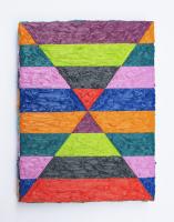 Rétroaction n°50, huile sur toile  - 22 x 17 cm, 2013