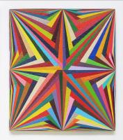 Rétroaction n°8, huile sur toile  - 67 x 60 cm, 2012