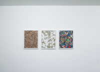 Untitled, 2011, 3x 50 x 40 cm - châssis, toiles, acrylique, cadres