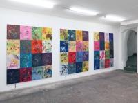 Espace corrélatif, 2015-2018 - Peinture aléatoire et autogénérée
